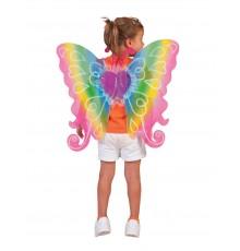 Ailes coeur multicolores 60 X 54 cm