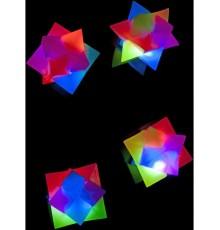 Balle en forme géométrique luminescente