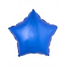 Ballon aluminium étoile bleue 45 cm