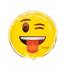 Ballon aluminium clin d'oeil Emoji