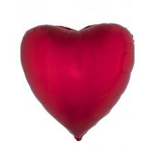 Ballon cœur en aluminium