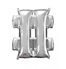 Ballon Symbole Dièse Géant en Aluminium