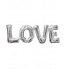 Ballon Love Géant en Aluminium