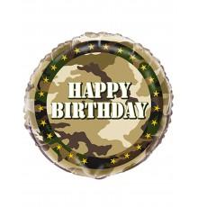 Ballon aluminium militaire 45 cm