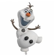 Ballon aluminium Olaf Reine des neiges