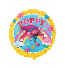 Ballon aluminium Poppy Trolls 43 cm