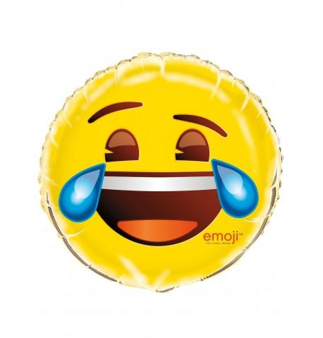 Ballon aluminium Rire aux larmes Emoji