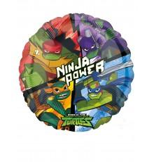 Ballon en aluminium Le Destin des Tortues Ninja 43 cm