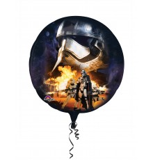 Ballon en aluminium Les Méchants Star Wars VII 81 x 81 cm