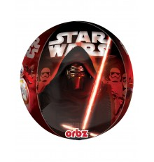 Ballon en aluminium Personnages Star Wars VII 38 x 40 cm