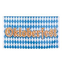 Bannière en tissu Oktoberfest 90 x 150 cm