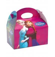 Boîte à cadeaux La Reine des Neiges 16 x 10,5 x 16 cm