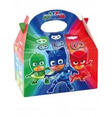 Boîte en carton Pyjamasques 16 x 10,5 x 16 cm