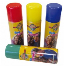 Bombe fils serpentins multicolores 83 ml