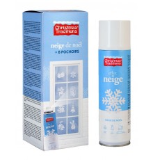 Spray Neige avec Pochoirs à Motif Noël