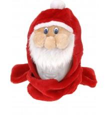 Bonnet écharpe de Père-Noël en Polyester