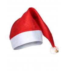 Bonnet de Noël avec sonnette dorée