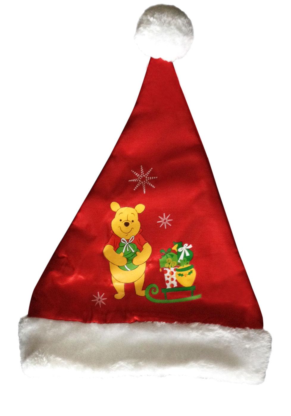 Bonnet de Noël avec motif Winnie l'ourson