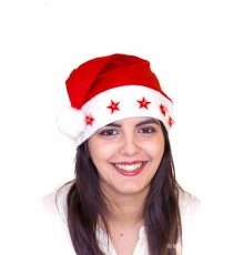 Bonnet lumineux Père Noël