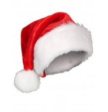 Bonnet de Noël à Pompon en Polyester