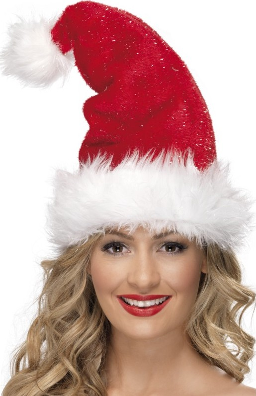 Bonnet de Noël luxe pour adulte