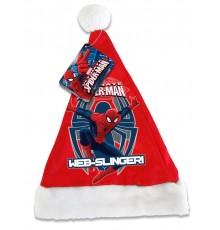 Bonnet de Noël à Motif Spiderman