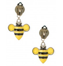 Paire de boucles d'oreilles abeille pour adulte