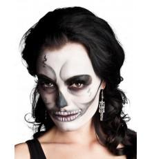 Boucles d'oreilles en forme de squelette Halloween