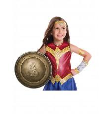 Bouclier en plastique Wonder Woman fille 30 cm
