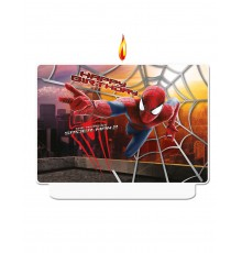 Bougie d'anniversaire The Amazing Spiderman