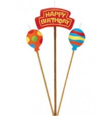Bougie Happy Birthday