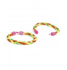 Bracelet Brésilien Tressé Multicolore