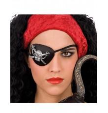 Cache-œil de Pirate à Motif Crâne