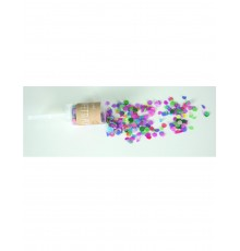 Canon à confetti pop rose multicolore 20g