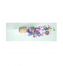 Canon à confetti pop rose multicolore 20g