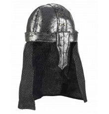 Casque chevalier guerrier souple adulte