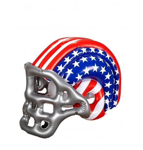 Casque footballeur américain USA gonflable adulte