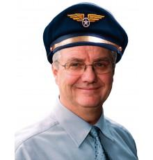 Casquette de Steward Bleue Marine pour Adulte