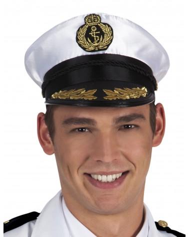 Chapeau de capitaine marin adulte