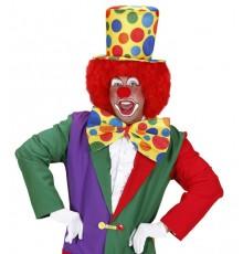 Chapeau haut de forme clown adulte