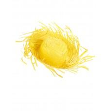 Chapeau Hawaï jaune adulte
