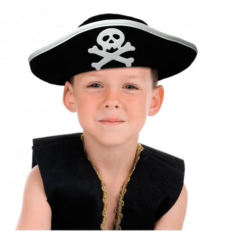 Chapeau pirate crâne enfant