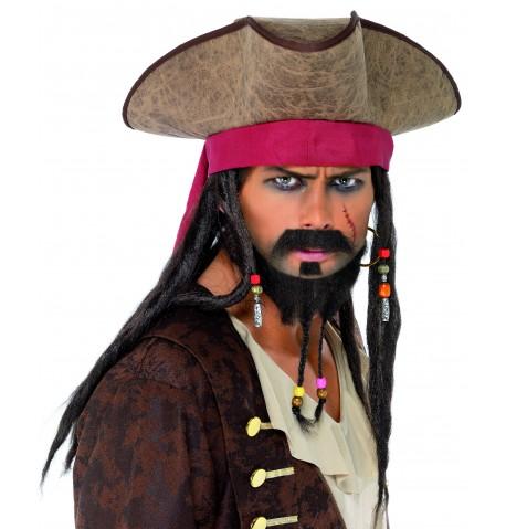 Chapeau pirate homme