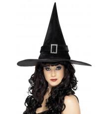 Chapeau sorcière noir chic femme