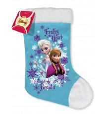 Chaussette La reine des neiges Noël
