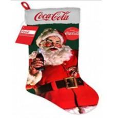 Chaussette lumineuse géante Coca-Cola