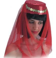 Coiffe danseuse orientale femme