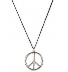 Collier hippie en métal Adulte