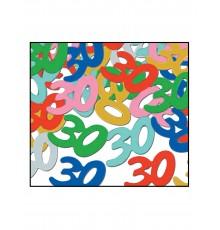 Confettis de table 30 ans