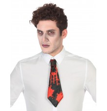 Cravate sanglante adulte Halloween